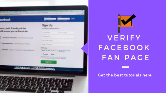 How To Get A Facebook Page Verified<br/>