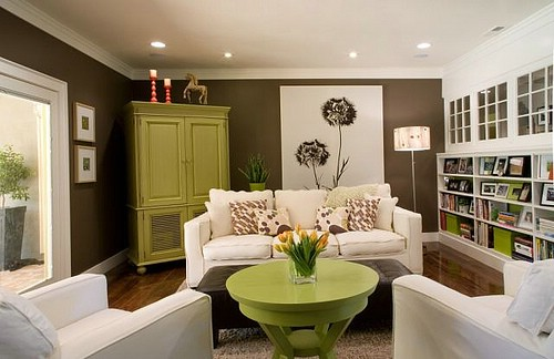 10 Green And Brown Room Inspiration Pursuit Of Functional Home