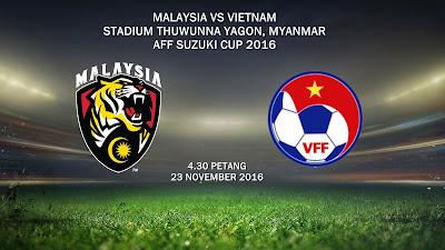 Malaysia Vs Vietnam 23 Nov 2016