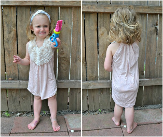 Sewing for Girls - Swim cover up