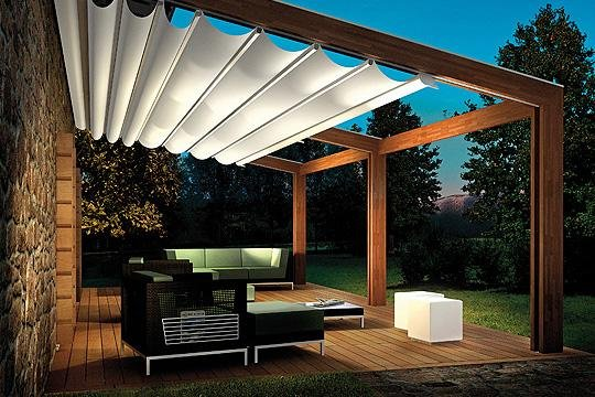 modern pergola design plans with sofa sets