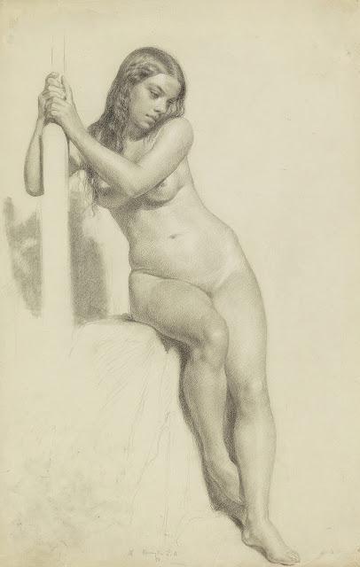 Daniel Huntington - nudo femminile - arte - erotismo