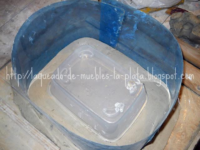 Como hacer encofrado para molde de yeso