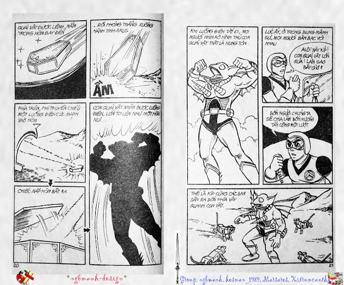 Dũng Sĩ Hesman tập 2 - hesman xuất hiện trang 11