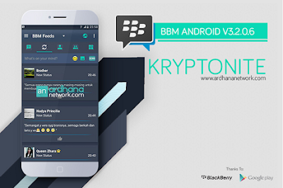 BBM Mod Terbaru 2017 for Android Update Latest Version Change Bakcground Clone Unclone
