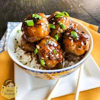 Asian Turkey Meatballs_menumusings.com