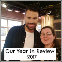 Rylan and myself at the This Morning Studios
