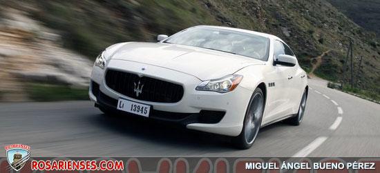 Maserati Quattroporte 2013 | Rosarienses, Villa del Rosario