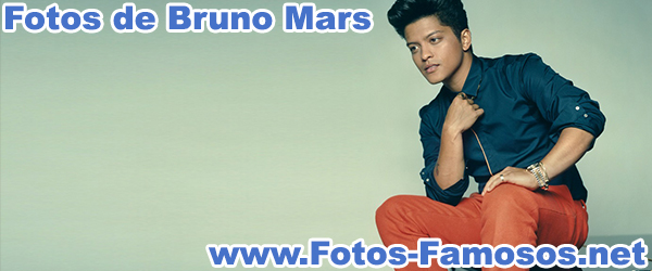 Fotos de Bruno Mars
