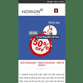 template blogspot dịch vụ bán hàng đẹp