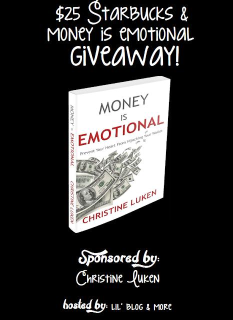 $25 Starbucks/Money is Emotional Giveaway