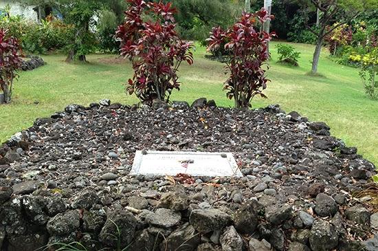 Maui Charles Lindbergh grave Kipahulu