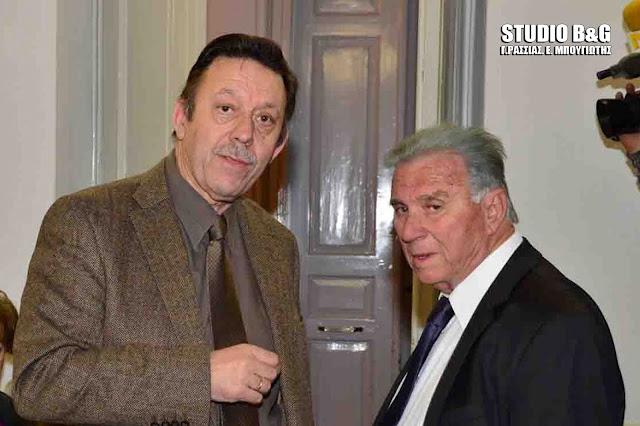 """Ο Σωτήρης Κωτσοβός νέος Πρόεδρος του Συλλόγου Αργείων """"Ο ΔΑΝΑΟΣ"""""""