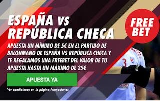 circus promocion europeo balonmano 2018 España vs República Checa 13 enero