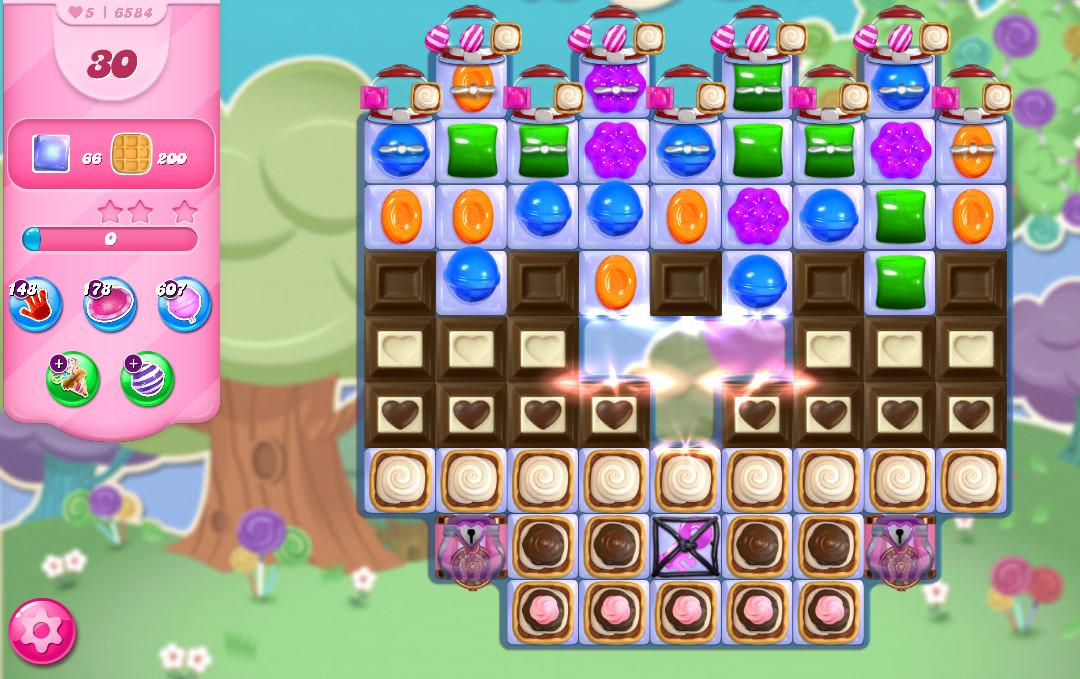 Candy Crush Saga level 6584