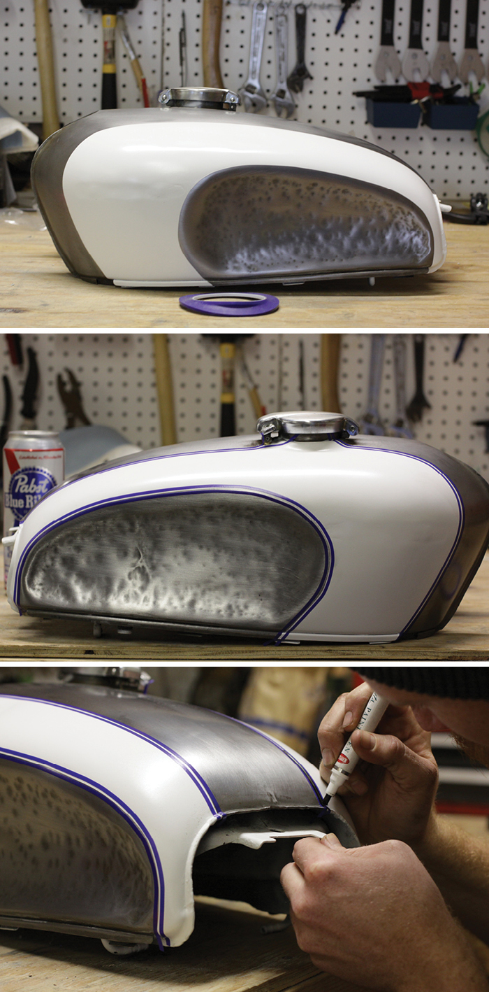 CB350 DIY pinstriping