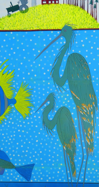 Light Shine Clean Water Mural