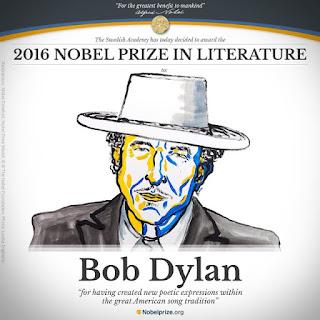 Prix Nobel de littérature 2016 Bob Dylan