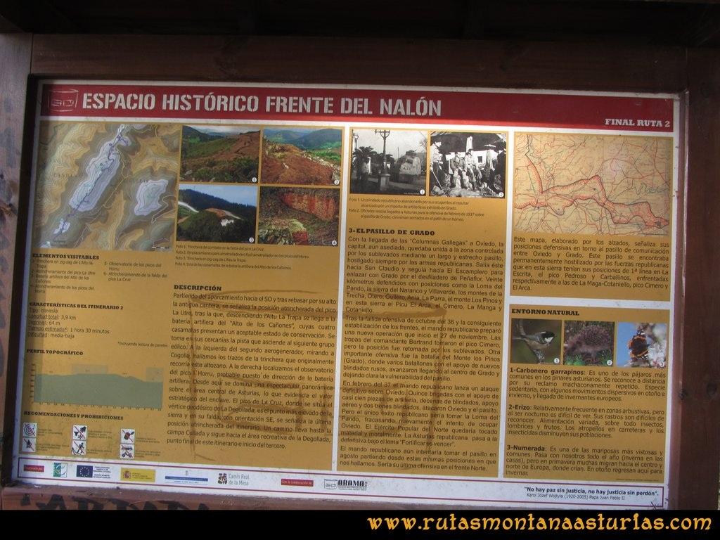 La Degollada: Cartel Frente Histórico del Nalón