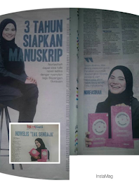 Bg & me on harian metro newspaper (14 mac 2017)