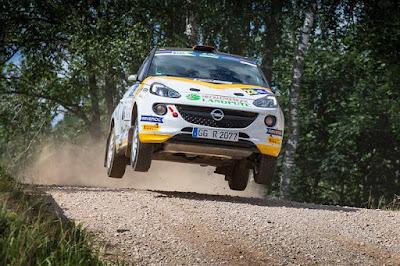Τετραπλή επιτυχία για την Opel στο FIA ERC Junior