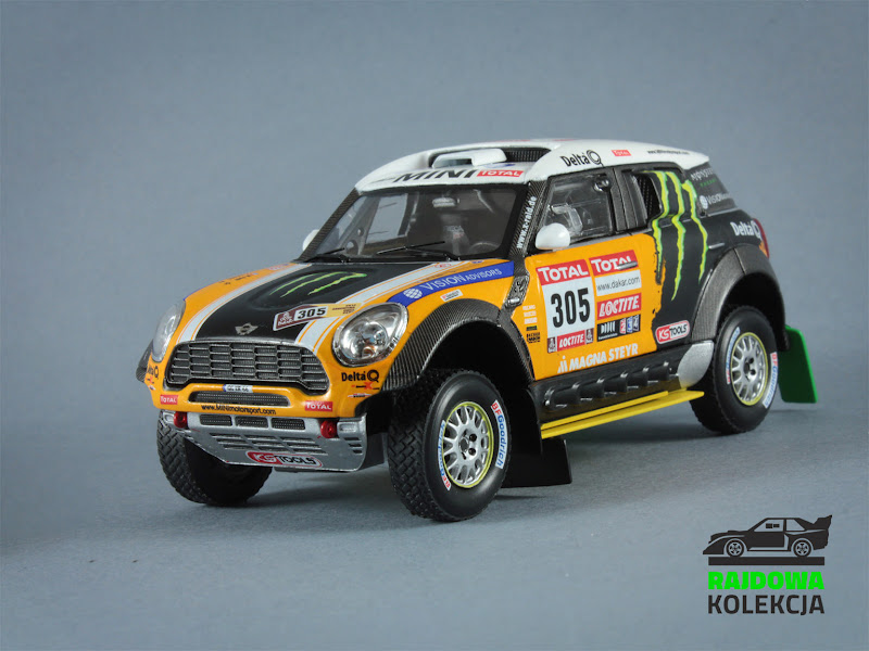 IXO RAM573 Mini All4Racing, Rally Dakar 2012