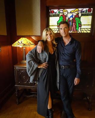 Connie Britton y Dylan McDermott en American Horror Story: Apocalypse