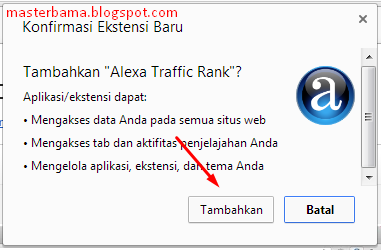 Cara Memasang Alexa Toolbar Pada Browser Google Chrome