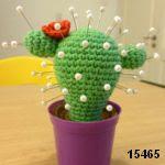 patron gratis cactus amigurumi