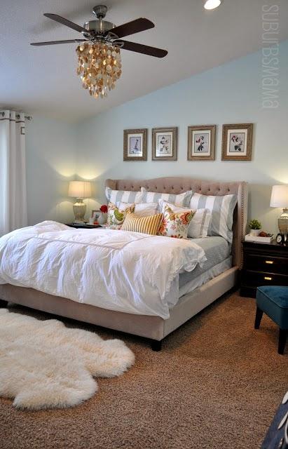 Suburbs Mama Nursery In Master Bedroom