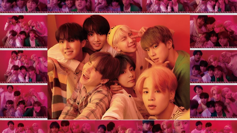 Bts Map Of The Soul Persona 4k Wallpaper 40
