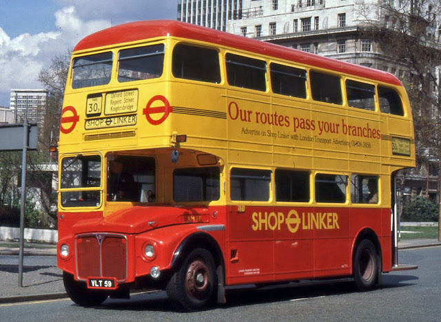 In April 1979 London Transport announced a new 'Shop Linker' bus service designed especially for shoppers to enable quick and easy travel to many of London's greatest West End stores.