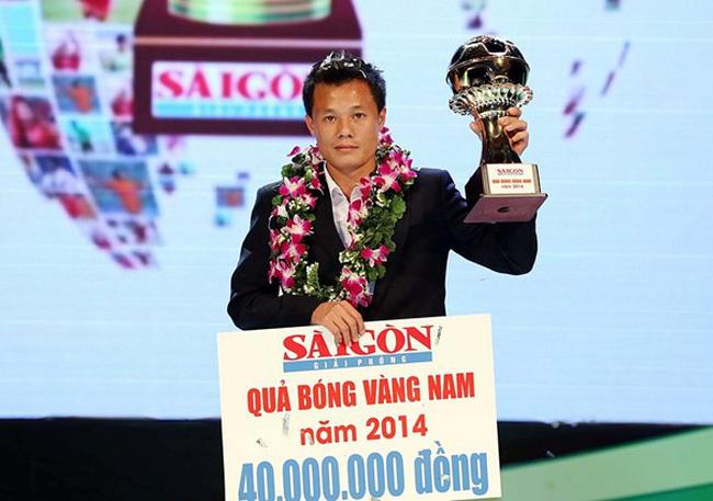 Phạm Thành Lương lần thứ 3 nhận giải thưởng Quả bóng Vàng