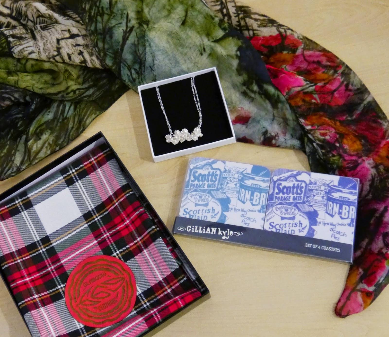 Wear Eponymous, The Wardrobe, Glasgow Fort, Glasgow Pop Up Shop, Shop Display, Scottish Design, gift guide, christmas shopping inspiration