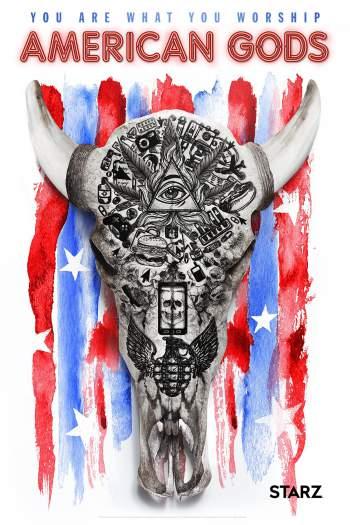 American Gods 1ª Temporada Torrent - WEBRip 720p Dual Áudio
