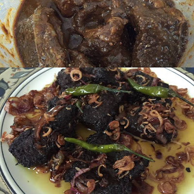 Resepi Ringkas Daging Goreng Perap Rempah