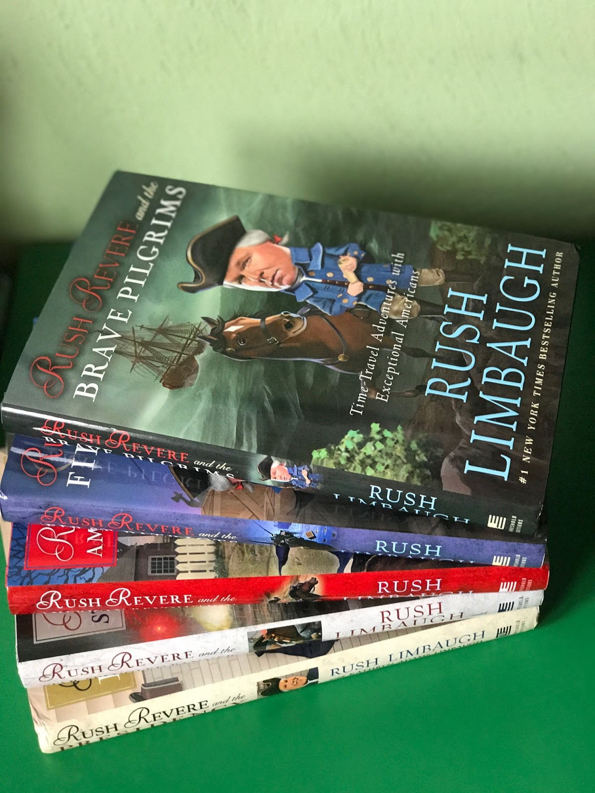 A Stable Beginning Adventures Of Rush Revere Book Series A Tos Review