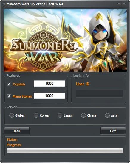 Summoners War: Sky Arena Hack ~ Summoners War: Sky Arena Hack Tool
