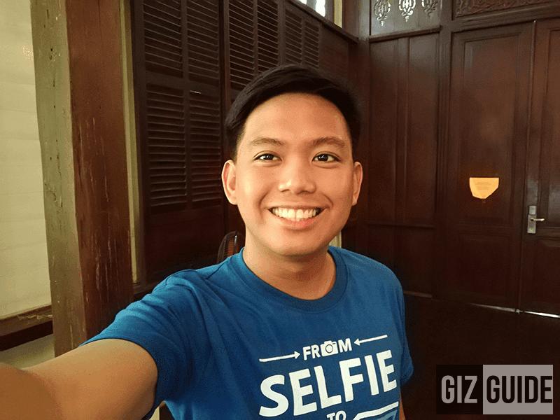 Selfie indoors