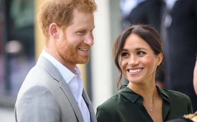 Fia született Harry hercegnek és Meghan hercegnőnek