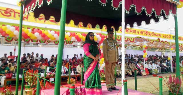 Independence Day of Kurigram and Gaibandha Ansar and VDP celebrated