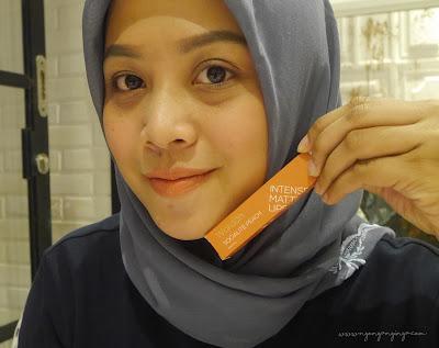wardah intense matte lipstick 01 sosialite peach