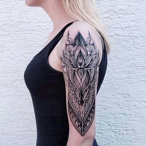 mandala kadın kol dövmeleri arm tattoo for woman