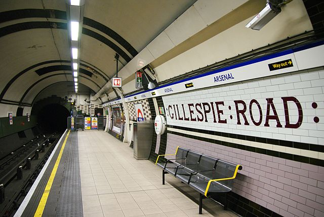 Stasiun Gillespie Road