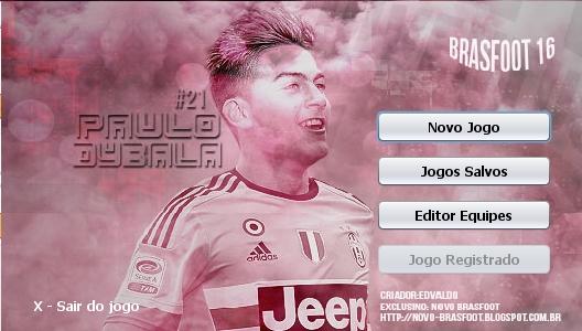Skin Paulo Dybala - Juventus para Brasfoot 2016