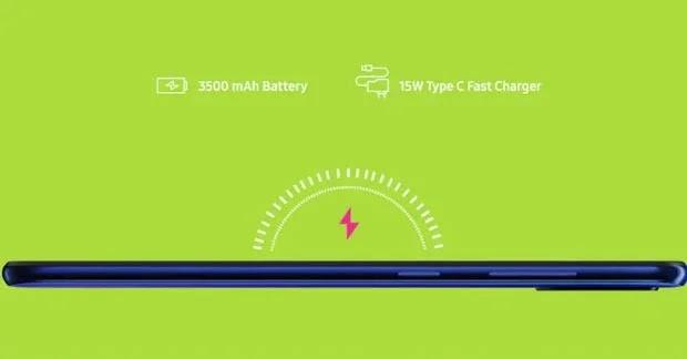 Samsung Galaxy M40 Baterai