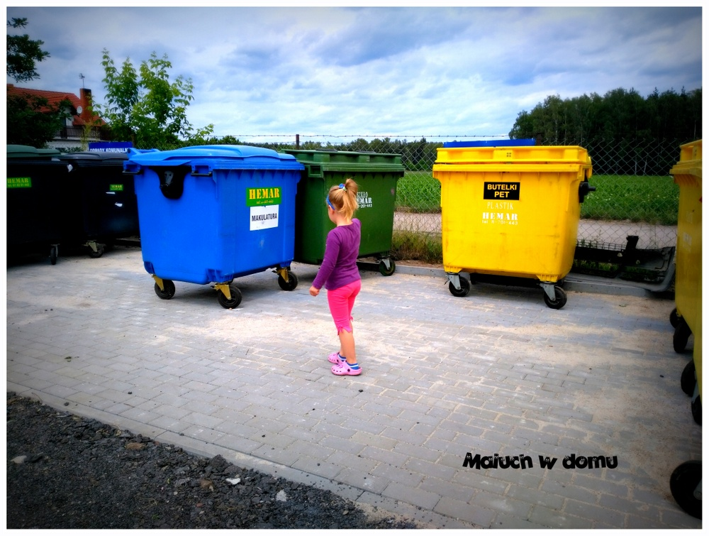 Kontenery do segregowania śmieci