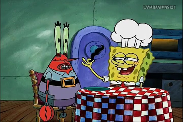 SpongeBob Season 2 Episode 4B - Imitation Krabs SD 480p Dub Indo