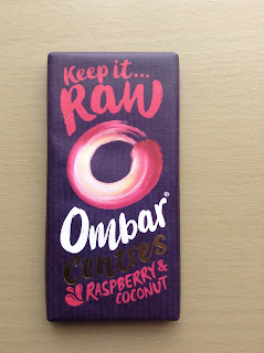 Ombar Raw Raspberry & Coconut Centres Bar