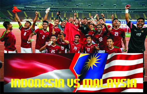 Indonesia Vs Malaysia di SEA Games 2017